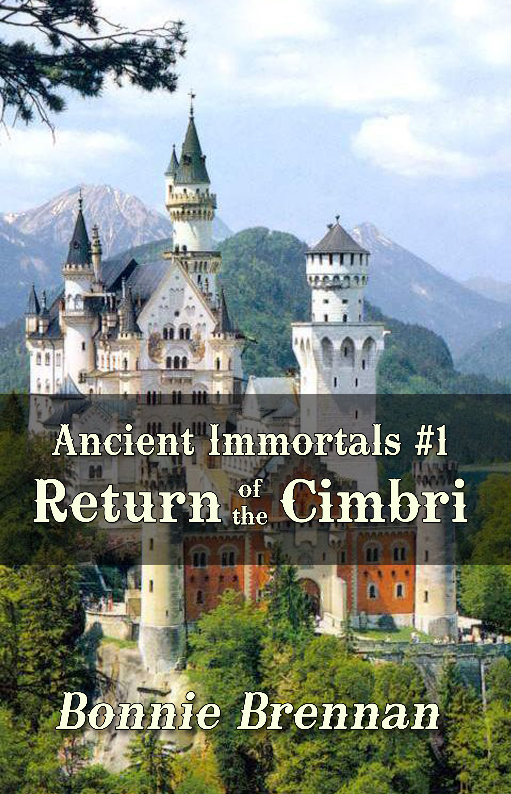 Ancient Immortals 1 Return of the Cimbri | Fantasy Romance for Young Adults